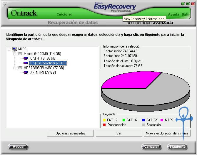 Recuperacion de Datos Ontrackeasyrecovery2g