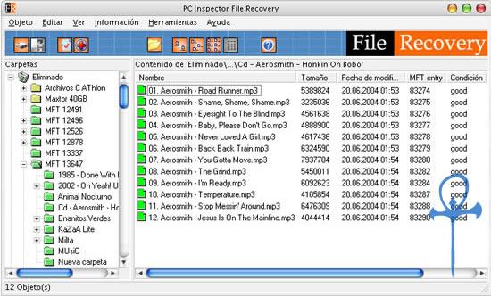 Recupera tus archivos