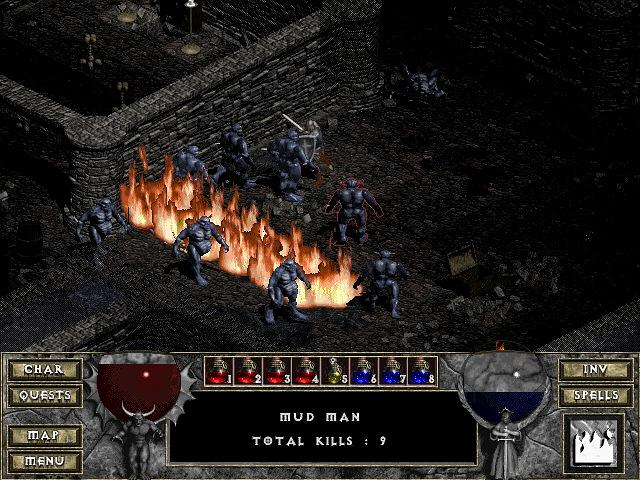 Diablo 1 Hell fire Diablo1_screenshot