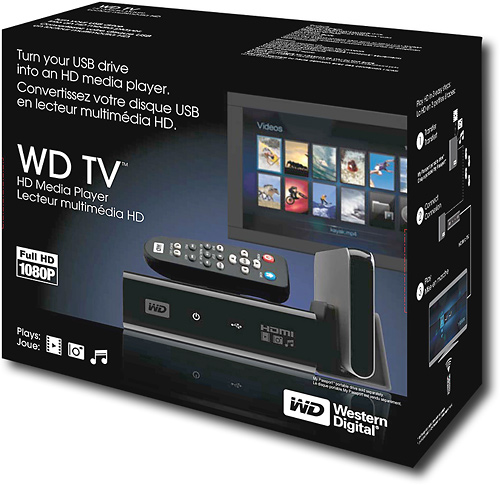 [VENDO] Reproductor Multimedia WESTERN DIGITAL TV FULL HD