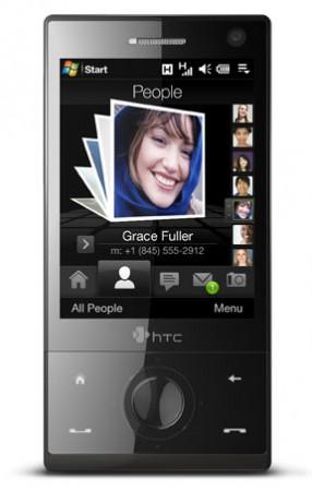 HTC Diamond corriendo con Windows Mobile
