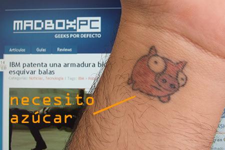 tatuajes de leon larregui. tatuaje tinta. Científicos desarrollan tinta que monitorea la glucosa