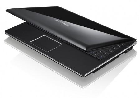 Vista superior del Samsung Q320