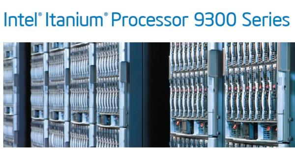 Intel finalmente lanza los Itanium 9300 (Tukwila)