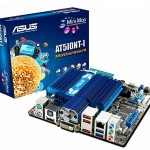 ASUS AT5IONT-I placa con ATOM dual-core, ION2, DDR3, USB 3.0,  y Wi-Fi