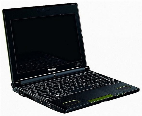 Toshiba NB550D Netbook Basado En AMD Fusion
