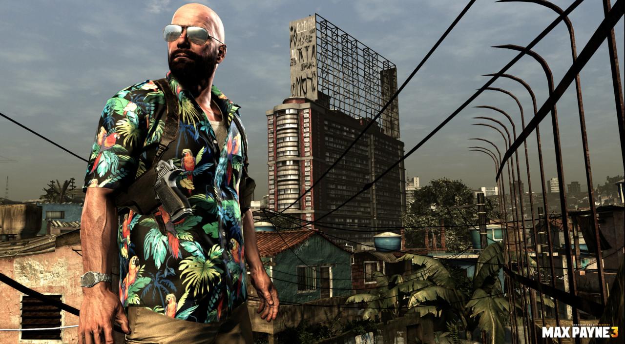 Rockstar revela screenshots de Max Payne 3