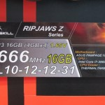CeBIT 2012: G.Skill muestra KITs RIPJAWS Z DDR3 en Quad-Channel más veloces