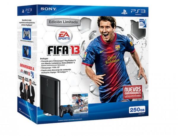 Bundle especial FIFA 13 con la nueva PlayStation 3 solo para