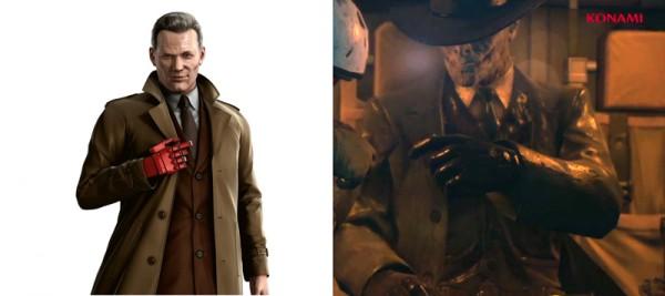 Lider de XOF con vestimenta muy similar a la de Zadornov (Peace Walker), quién está presuntamente muerto.