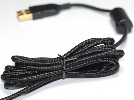 Los cables tejidos no se enredad y son más resistentes.