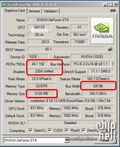 GTX-Titan-LE-GPU-z