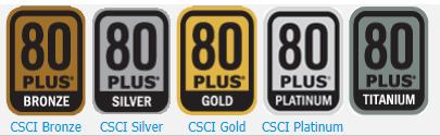 Certificados 80 Plus