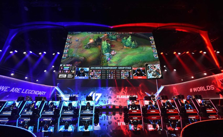 Campeonato Mundial League of Legends (1)