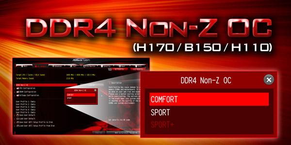 DDR4 Non-Z OC