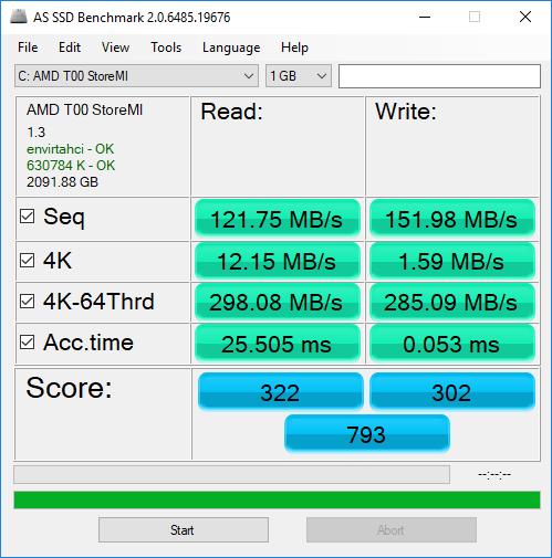 HDD+SSD con StoreMi sin Caché