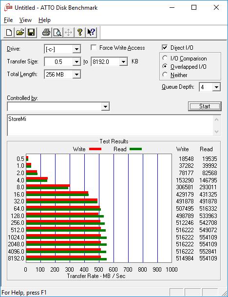 HDD + SSD con StoreMi sin Caché
