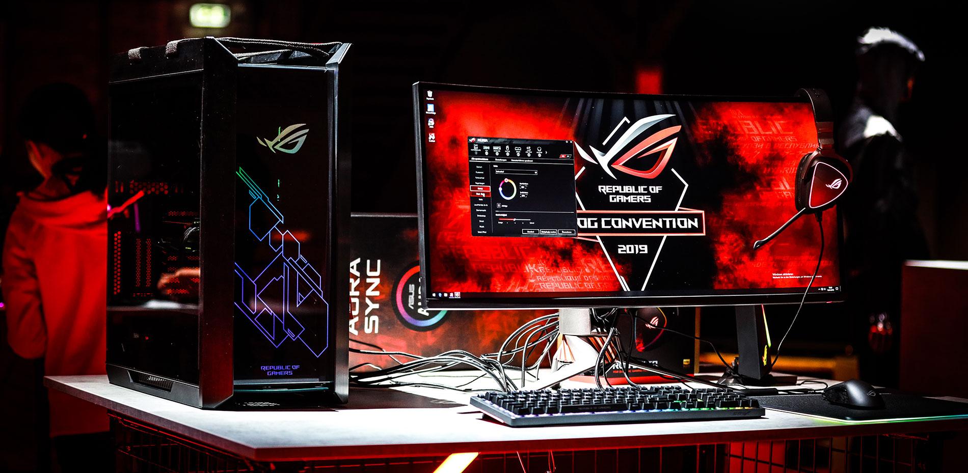 ASUS Republic of Gamers Anuncia los últimos productos Gaming en ROG