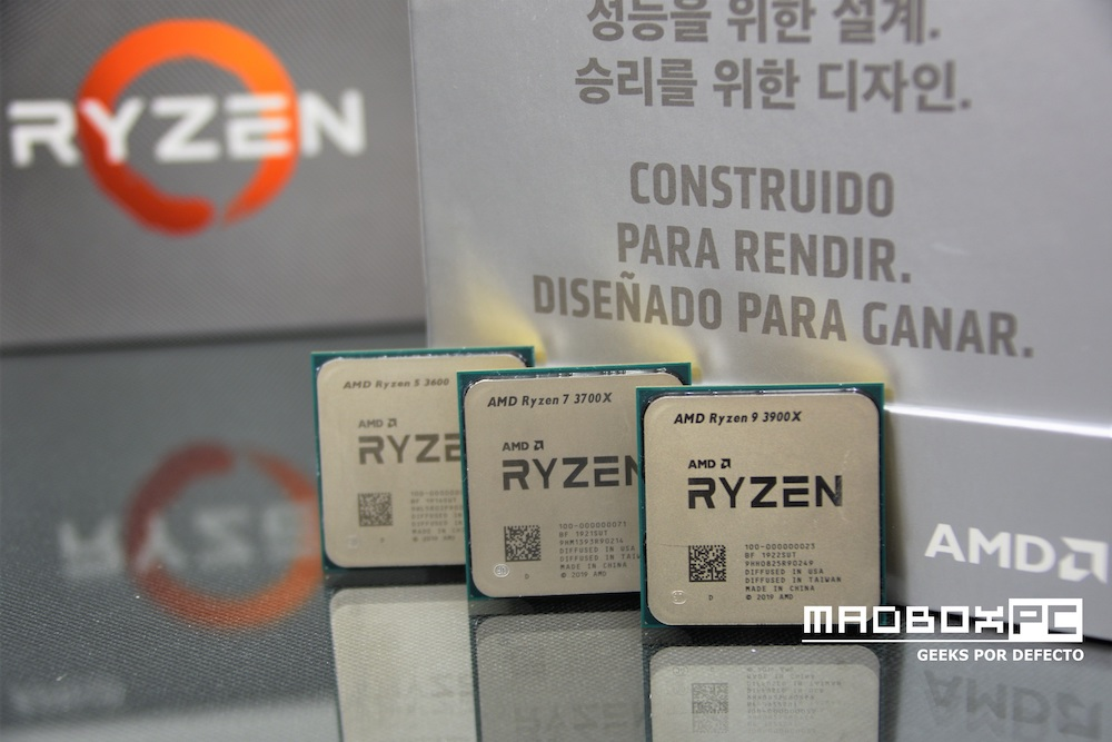Overview Amd Ryzen 9 3900x Ryzen 7 3700x And Ryzen 5 3600