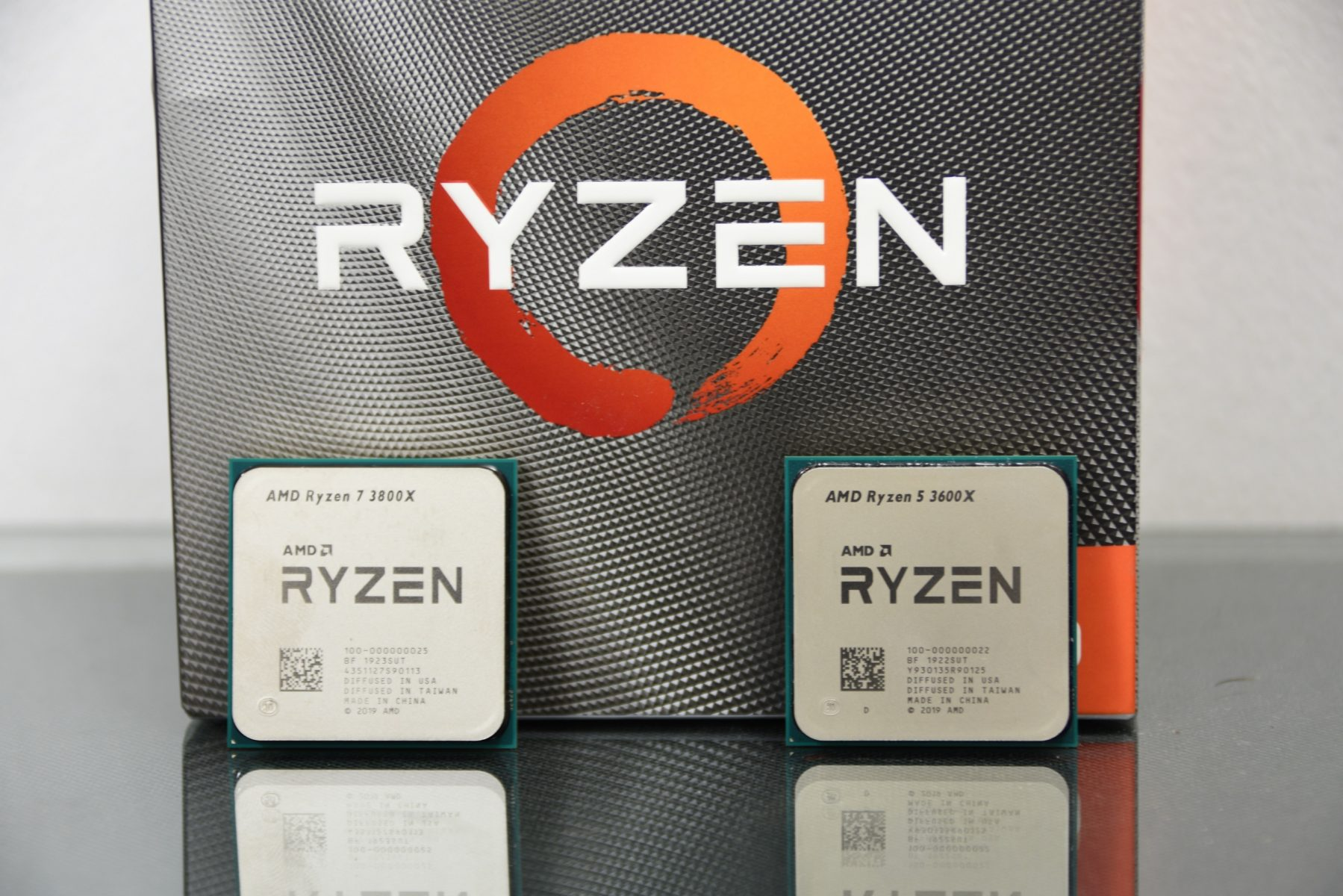 Overview Ryzen 7 3800x And Ryzen 5 3600x
